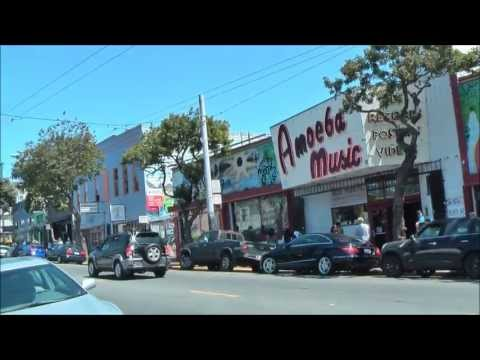 Haight - Walking the full length of Haight Street.