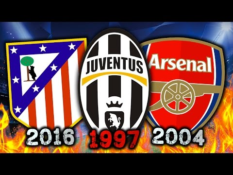 Video: 10 Great Teams Who NEVER Won The Champions League!
