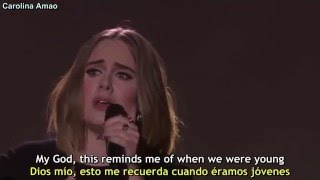 Adele - When We Were Young [Lyrics + Sub Español]