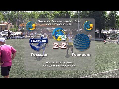 Техмаш — Горизонт (обзор) 16-06-2019