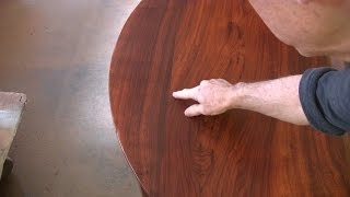 Repairing a Round Table Top