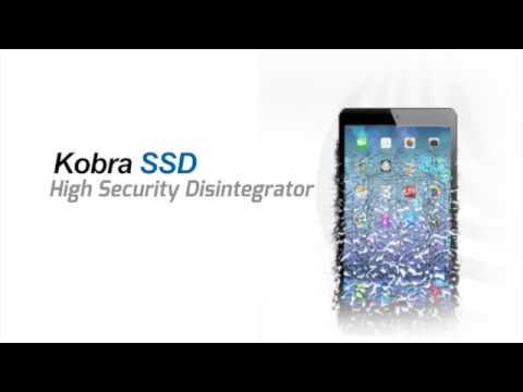 Kobra SSD HIGH SECURITY DISINTEGRATOR