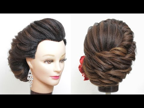 Wedding Hairstyles For Long Hair. New Bridal Updo Tutorial