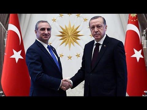 Τα διαπιστευτήριά του στον Τούρκο πρόεδρο επέδωσε ο πρέσβης του Ισραήλ