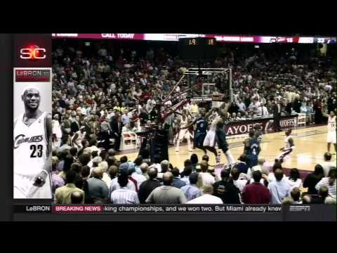 sportscenter - SportsCenter special on the day that LeBron James announced his return to the Cleveland Cavaliers.