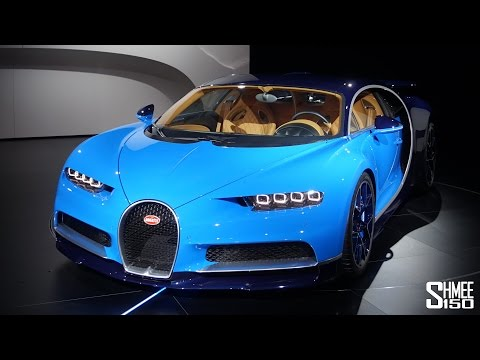 BUGATTI CHIRON | FIRST LOOK FULL TOUR AT GENEVA 2016
