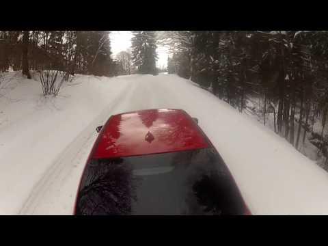Bmw e46 316ti STREET SNOW DRIFT (2)  2017