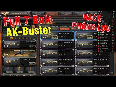 Nâng Cấp 7 Cây AK47-Buster Gold FULL 7 Balo, Hack Phóng Lựu AI - Thời lượng: 10:08.