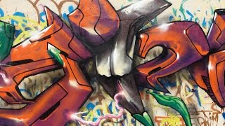 Siiick 3D Graffiti Timelapse       Grimnasty Show Ep.4