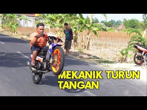 MEKANIK TURUN TANGAN!! SETTING YAMAHA FIZ R SAMPEK PAS || ROAD RACE INDONESIA