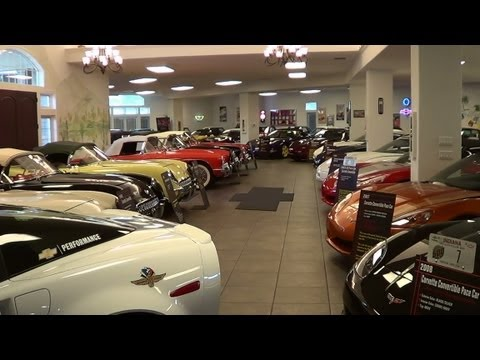 Corvette - One of the Most complete Corvette Collections I have even been in....They have all the pace cars except one....and they are looking for it....there are 3 ZR-...