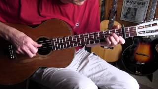 Minnie's Blues - Memphis Minnie style instrumental