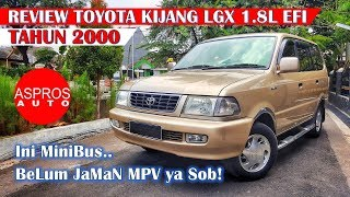 Video REVIEW MINIBUS LEGENDARIS : TOYOTA KIJANG KAPSUL LGX 1.8L EFI TAHUN 2000 By ASPROS AUTO MP3, 3GP, MP4, WEBM, AVI, FLV Oktober 2018