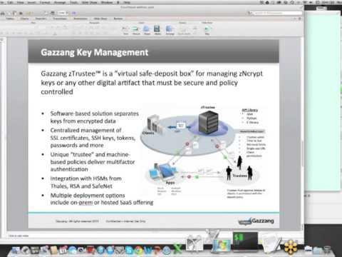 Keeping Data Safe Using Gazzang