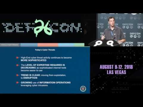 DEF CON 26 - Rob Joyce - NSA Talks Cybersecurity