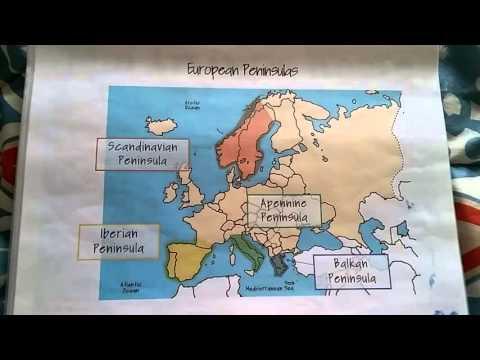 Geo C2:W7 European Peninsulas