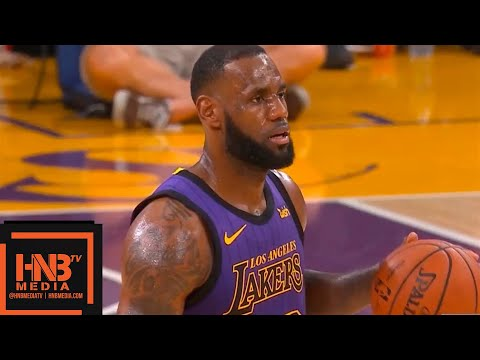 Los Angeles Lakers vs Utah Jazz 1st Half Highlights   11.23.2018, NBA Season