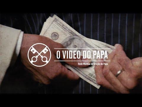 Papa grava vídeo com Oração pelo fim da corrupção