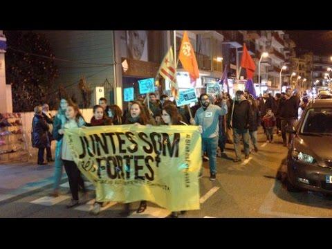 Marxa Lila a Blanes 2016 - Dia Internacional Dona Treballadora