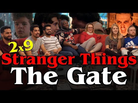 Stranger Things - 2x9 The Gate - Group Reaction