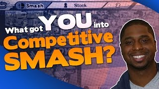 "I asked on twitter, ""what got you into competitive smash!"" Here are the answers some people  gave me! We all play this amazing game Of Super Smash Bros, but what got you started on it? i would love to know in the comment section below!  Don't forget to hit the bell icon to be notified of all our videos!Subscribe! ► http://bit.ly/1MKdsxgFollow me on Twitter! ► https://twitter.com/MightyKeefTwitch! ► https://www.twitch.tv/mightykeef"