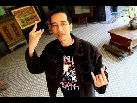 Indonesia Has A Metalhead As Their Newly Elected President!!!