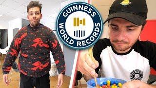 Video On bat des records du monde #2 (avec Amixem) MP3, 3GP, MP4, WEBM, AVI, FLV Mei 2018