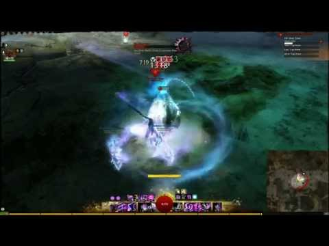 Guild Wars 2 | Mesmer Solo - Ascalonian Catacombs Path 2 The Ghost Eater