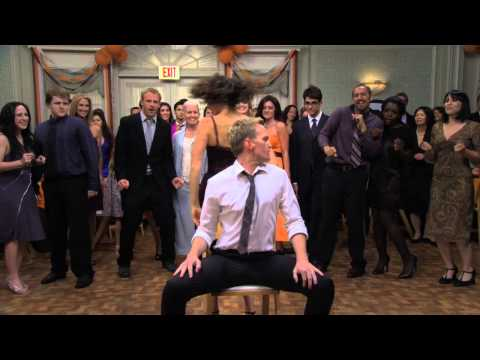 How I Met Your Mother S07E01 Barney and Robin dance HD