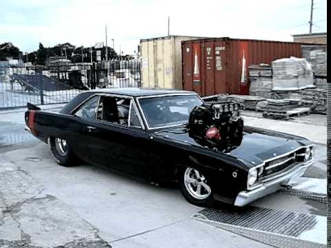 '68 Dart with a blown 572 cubic-inch Hemi