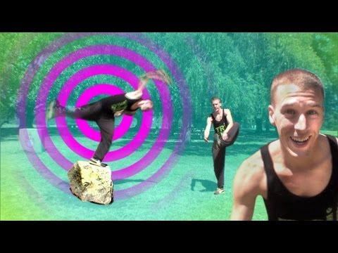 front - This ONE FOOTED FRONT FLIP tutorial is for beginners and advanced parkour and freerunning athletes. It is a very detailed how to WEBSTER front flip Break dow...
