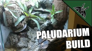 DIY: How to make a paludarium/vivarium for dart frogs with waterfall!