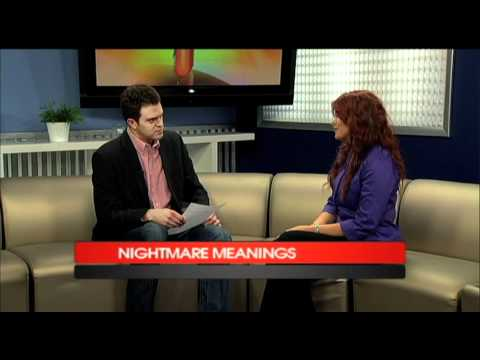 nightmares - Do you ever wonder why we have nightmares? Lauri Loewnberg, author of