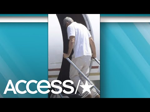 George Clooney Hobbles Onto Airplane As He's Spotted Out For The First Time Since Crash | Access