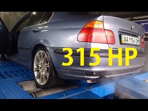 Dyno 305-338 HP  BMW E46 328i Turbo m52b28TU