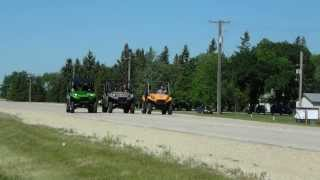 9. 2014 Teryx4 800 vs 2013 Teryx4 750 vs 2013 Teryx2 750 with no modifications!