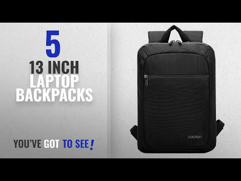 13 Inch Laptop Backpacks [2018 Best Sellers]: Cocoon Innovations Slim S 13