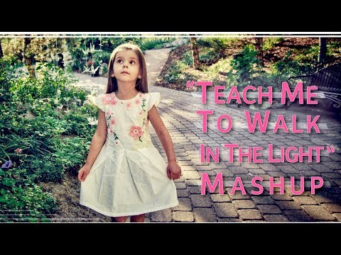 Teach Me To Walk MASHUP, (4 Year Old) Evelyn Grace & Sister Lyza Bull Of One Voice Children's Choir