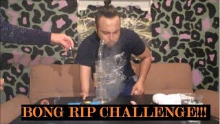 StrainCentral 90 Second Bong Rip Challenge by Asight4soreeyez