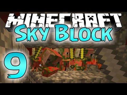 Minecraft: SkyBlock Survival Episode 9 - Ultimate Nether Mob Grinder Fun!