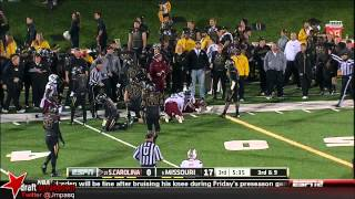 Michael Sam vs South Carolina (2013)