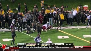 Michael Sam vs South Carolina (2013)