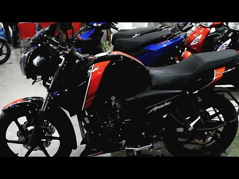 TVS Apache RTR 160 ABS (BLACK COLOUR) Review || 2019 Update || On Road Price || Mileage||