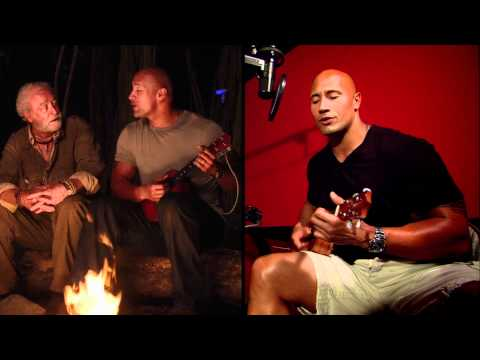 "Journey 2: The Mysterious Island - Dwayne Johnson Sings ""What A Wonderful World"""