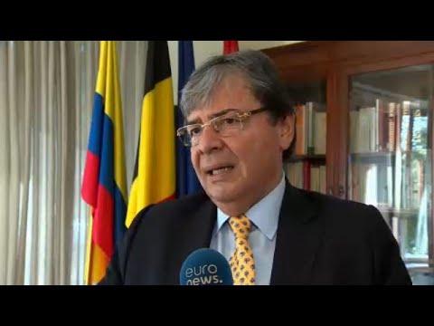 Ο Κολομβιανός ΥΠ.ΕΞ. στις Βρυξέλλες