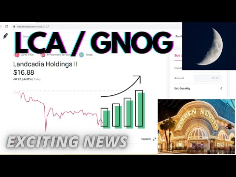 LCA / GNOG Exciting News Update [ Stock Market ] Golden Nugget