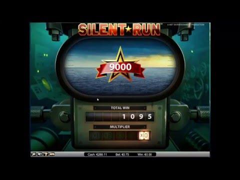 Silent Run Slot 10x Multiplier Picks - NetEnt