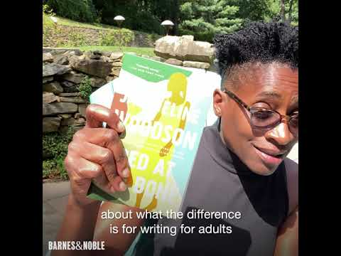 Jaqueline Woodson, author of RED AT THE BONE, talks writing for adults vs. kids!