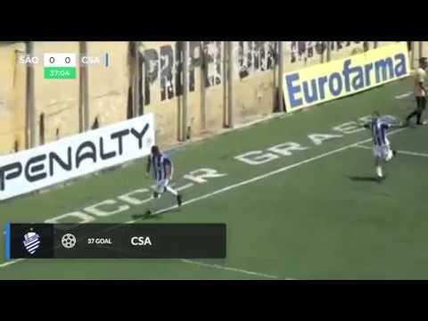 CSA vence o S�o Bernardo por 1 a 0 e se classifica na Copinha