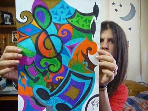 Abstractos y coloridos videos videos relacionados con for Imagenes de cuadros abstractos geometricos